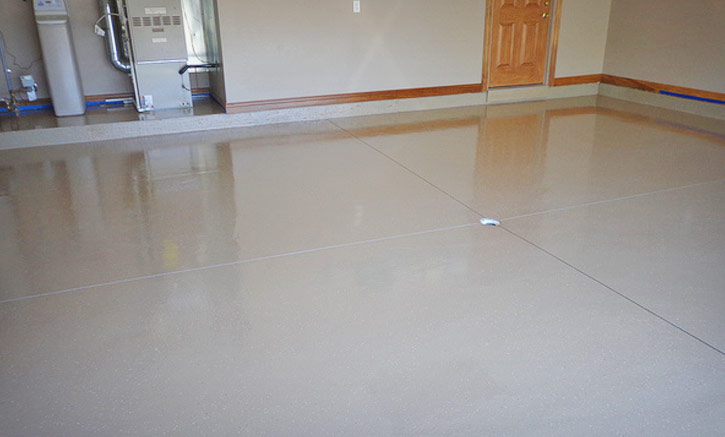 Epoxy Paint Floor Covering Portland Oregon